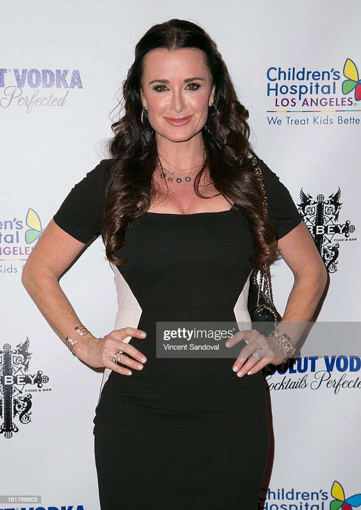 Actress Kyle Richards attends The Abbey's 8th annual Christmas in September event benefiting The Children's Hospital Los Angeles at The Abbey on September 24, 2013 in West Hollywood, California.