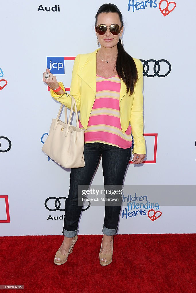 Actress Kyle Richards attends the First Annual Children Mending Hearts Style Sunday on June 9, 2013 in Beverly Hills, California.