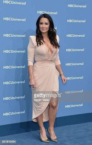 Actress Kyle Richards attends the NBCUniversal 2016 Upfront Presentation on May 16 2016 in New York New York