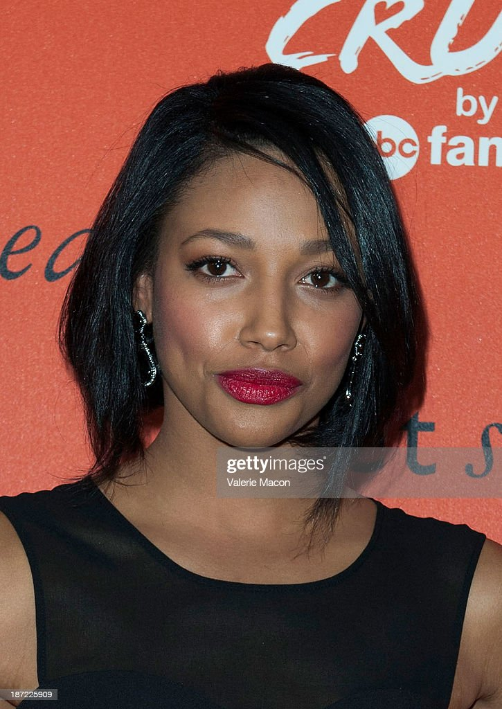 Actress Kylie Bunbury arrives at the Launch Celebration Of Crush By ABC Family at The London Hotel on November 6, 2013 in West Hollywood, California.