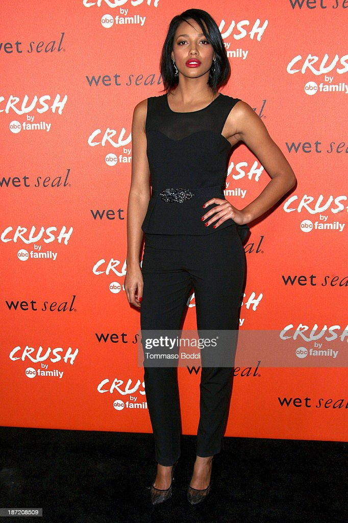 Actress Kylie Bunbury attends the 'Crush' By ABC Family Fashion launch held at The London Hotel on November 6, 2013 in West Hollywood, California.