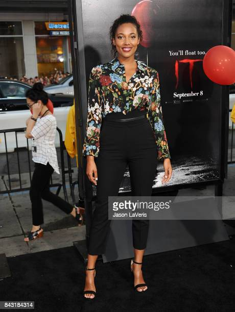Actress Kylie Bunbury attends the premiere of 'It' at TCL Chinese Theatre on September 5 2017 in Hollywood California