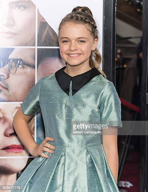 Actress Kylie Rogers attends 'Collateral Beauty' World Premiere at Frederick P Rose Hall Jazz at Lincoln Center on December 12 2016 in New York City