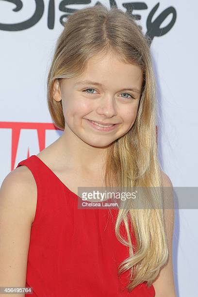 Actress Kylie Rogers attends Disney's VIP halloween event at Disney Consumer Products Campus on October 1 2014 in Glendale California
