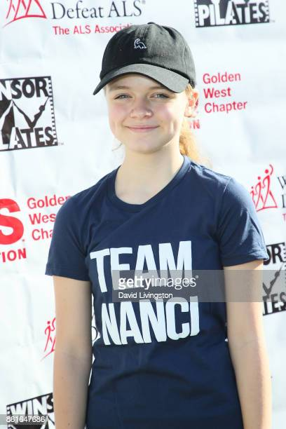 Actress Kylie Rogers attends Nanci Ryder's 'Team Nanci' at the 15th Annual LA County Walk to Defeat ALS at the Exposition Park on October 15 2017 in...