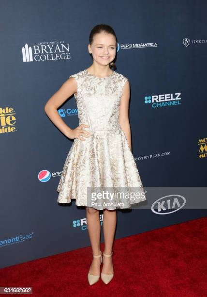 Actress Kylie Rogers attends the 25th Annual Movieguide Awards at Universal Hilton Hotel on February 10 2017 in Universal City California