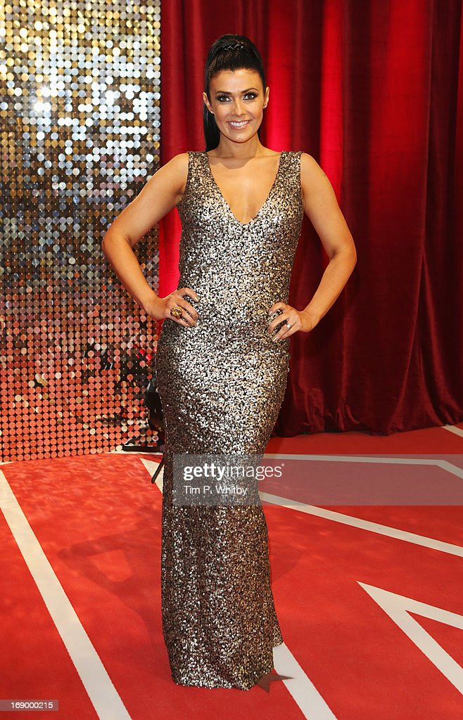 Actress Kym Lomas attends the British Soap Awards at Media City on May 18, 2013 in Manchester, England.