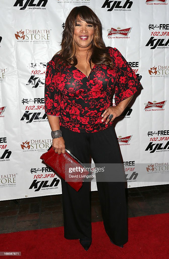 Actress <a gi-track='captionPersonalityLinkClicked' href=/galleries/search?phrase=Kym+Whitley&family=editorial&specificpeople=242929 ng-click='$event.stopPropagation()'>Kym Whitley</a> attends Stevie Wonder's 63rd birthday celebration at the House of Music & Entertainment on May 11, 2013 in Beverly Hills, California.