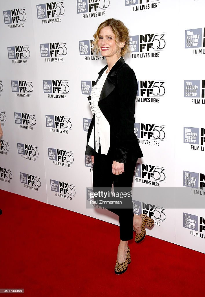 Actress Kyra Sedgwick 53rd New York Film Festival premiere of 'Brooklyn' at Alice Tully Hall Lincoln Center on October 7 2015 in New York City