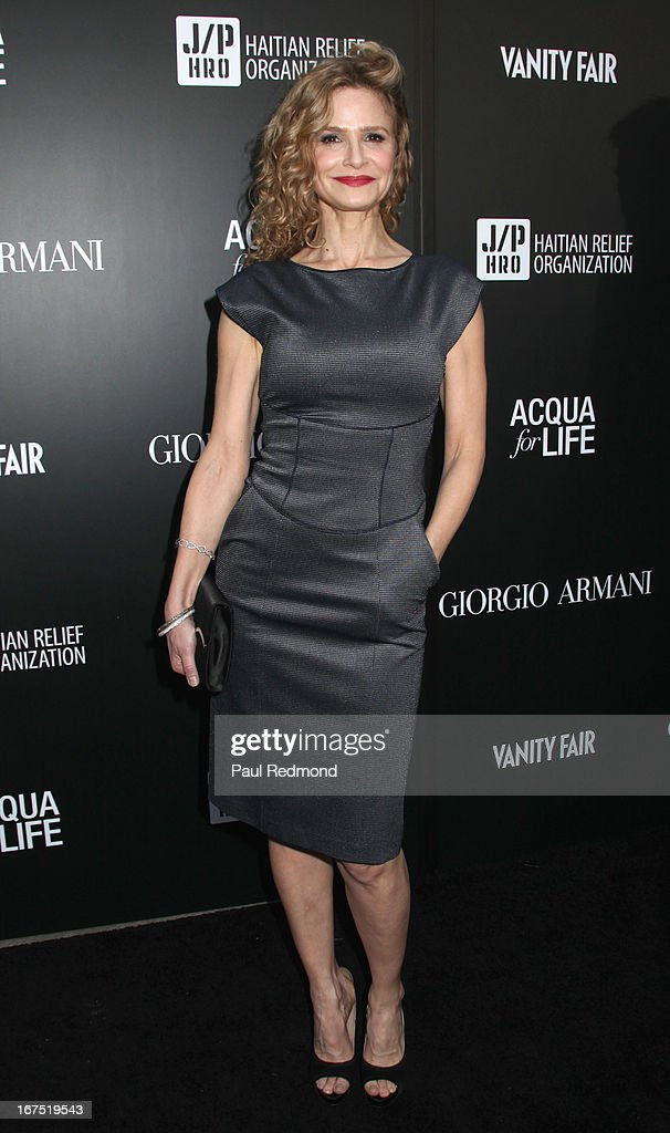 Actress Kyra Sedgwick arrives at the Armani party during Paris Photo LA - Opening Night at Paramount Studios on April 25, 2013 in Hollywood, California.