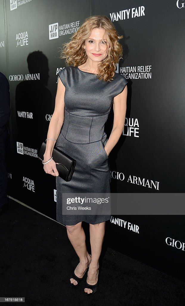 Actress Kyra Sedgwick attends Giorgio Armani Paris Photo LA Acqua #3 at Paramount Studios on April 25, 2013 in Los Angeles, California.