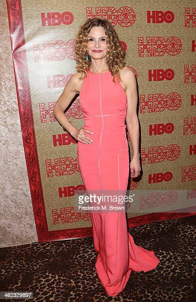 Actress Kyra Sedgwick attends HBO's Post 2014 Golden Globe Awards Party held at Circa 55 Restaurant on January 12 2014 in Los Angeles California