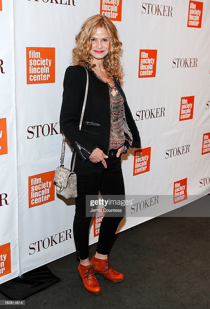 Actress Kyra Sedgwick attends 'Stoker' New York Screening at The Film Society of Lincoln Center, Walter Reade Theatre on February 27, 2013 in New York City.