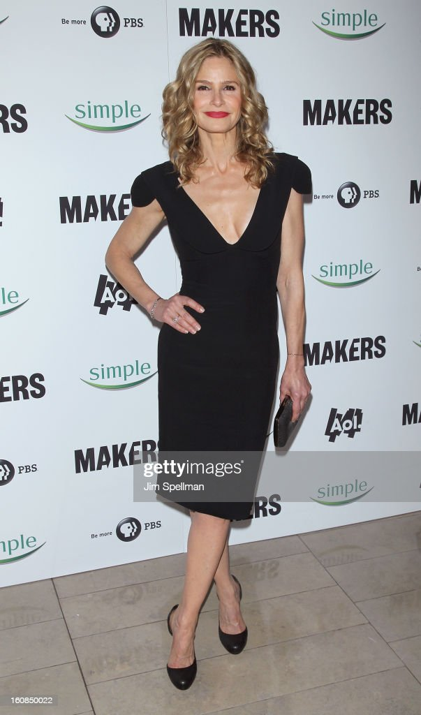 Actress Kyra Sedgwick attends the 'Makers: Women Who Make America' New York Premiere at Alice Tully Hall at Lincoln Center on February 6, 2013 in New York City.