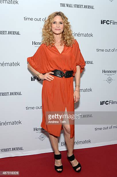 Actress Kyra Sedgwick attends the 'Time Out of Mind' New York premiere at BAM Rose Cinemas on September 8 2015 in New York City