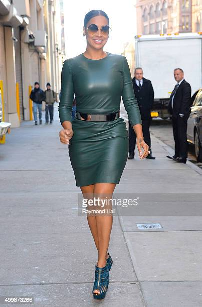 Actress La La Anthony is seen outside 'Huff Post Live' on December 3 2015 in New York City