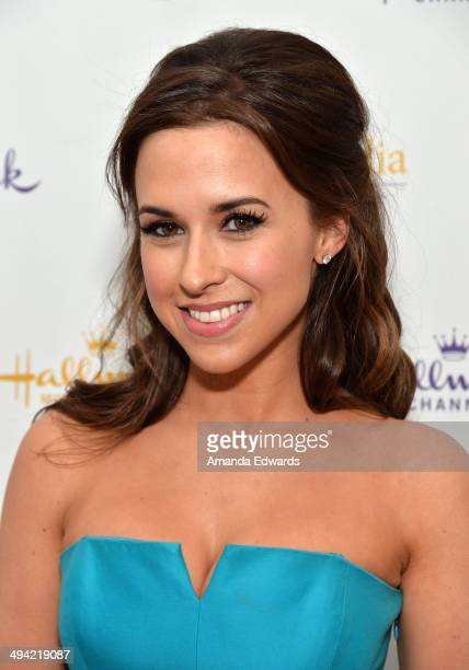 Actress Lacey Chabert arrives at 'The Color Of Rain' premiere screening presented by the Hallmark Movie Channel at The Paley Center for Media on May...