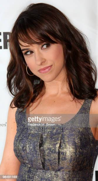 Actress Lacey Chabert attends the 'In My Sleep' film premiere at the Arclight Hollywood on April 15 2010 in Los Angeles California