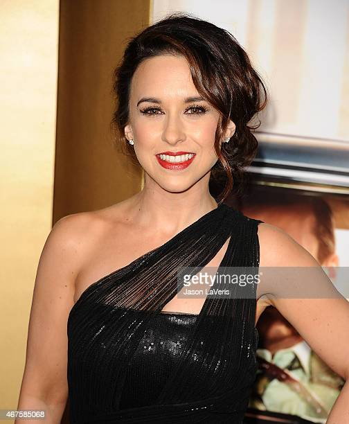 Actress Lacey Chabert attends the 'Mad Men' Black Red Ball at Dorothy Chandler Pavilion on March 25 2015 in Los Angeles California
