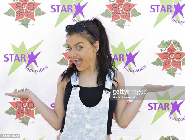 Actress Laci Kay attends 17th Annual Children's Earth Day Extravaganza at Star Eco Station on April 2 2017 in Culver City California