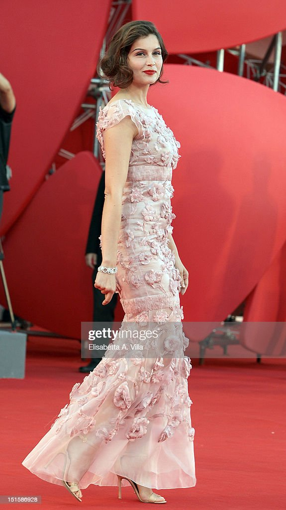 Actress Laetitia Casta attends the Award Ceremony And 'L'Homme Qui Rit' Premiere during The 69th Venice Film Festival at the Palazzo del Cinema on September 8, 2012 in Venice, Italy.