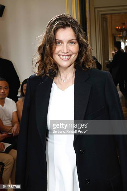 Actress Laetitia Casta attends the Presentation of Maison Boucheron New 'Haute Joaillerie' Collection as part of Paris Fashion Week on July 4 2016 in...