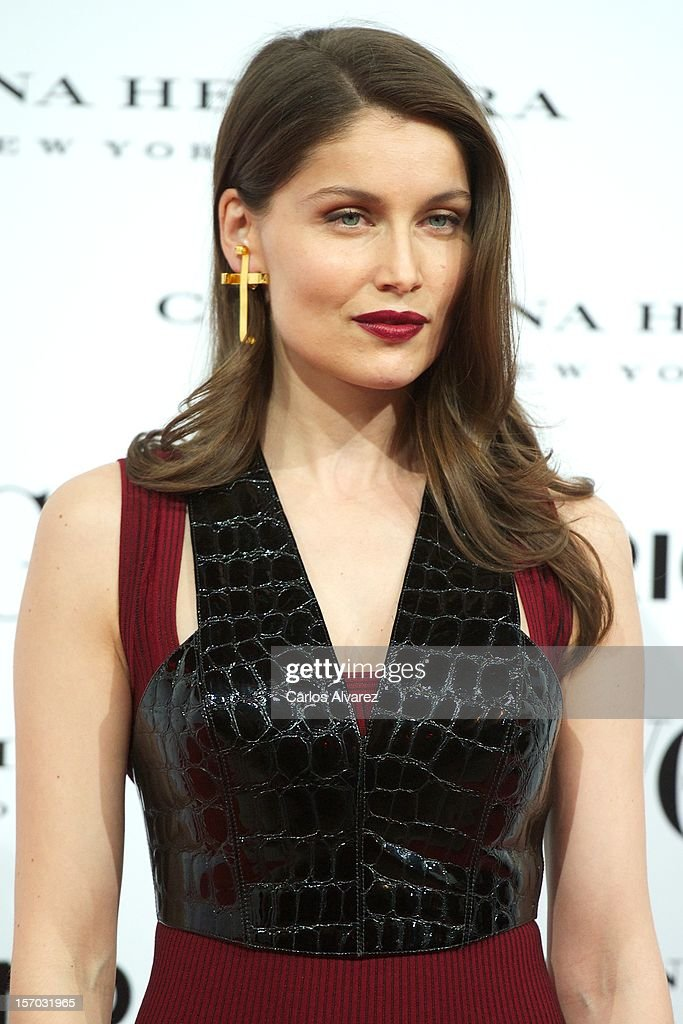 Actress <a gi-track='captionPersonalityLinkClicked' href=/galleries/search?phrase=Laetitia+Casta&family=editorial&specificpeople=203075 ng-click='$event.stopPropagation()'>Laetitia Casta</a> attends the Vogue & Mario Testino party at Fernan Nunez Palace on November 27, 2012 in Madrid, Spain.