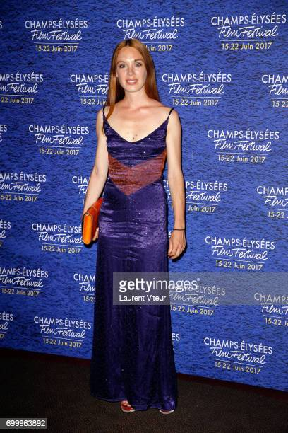 Actress Laetitia Dosch attend Closing Ceremony of 6th Champs Elysees Film Festival on June 22 2017 in Paris France