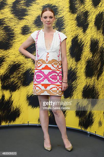 Actress Laetitia Dosch attends La Belle Saison photocall on August 6 2015 in Locarno Switzerland