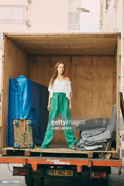 Actress Laetitia Dosch is photographed for Self Assignment on May 23 2017 in Cannes France