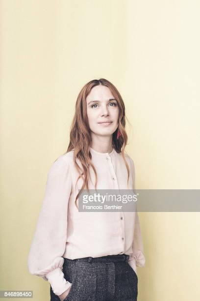 Actress Laetitia Dosch is photographed on September 9 2017 in Deauville France