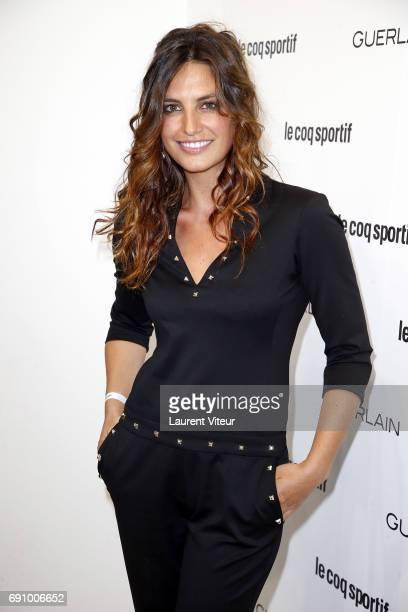 Actress Laetitia Milot attends 'Le Coq Sportif x Guerlain' at Le Coq Sportif Flagship on May 31 2017 in Paris France