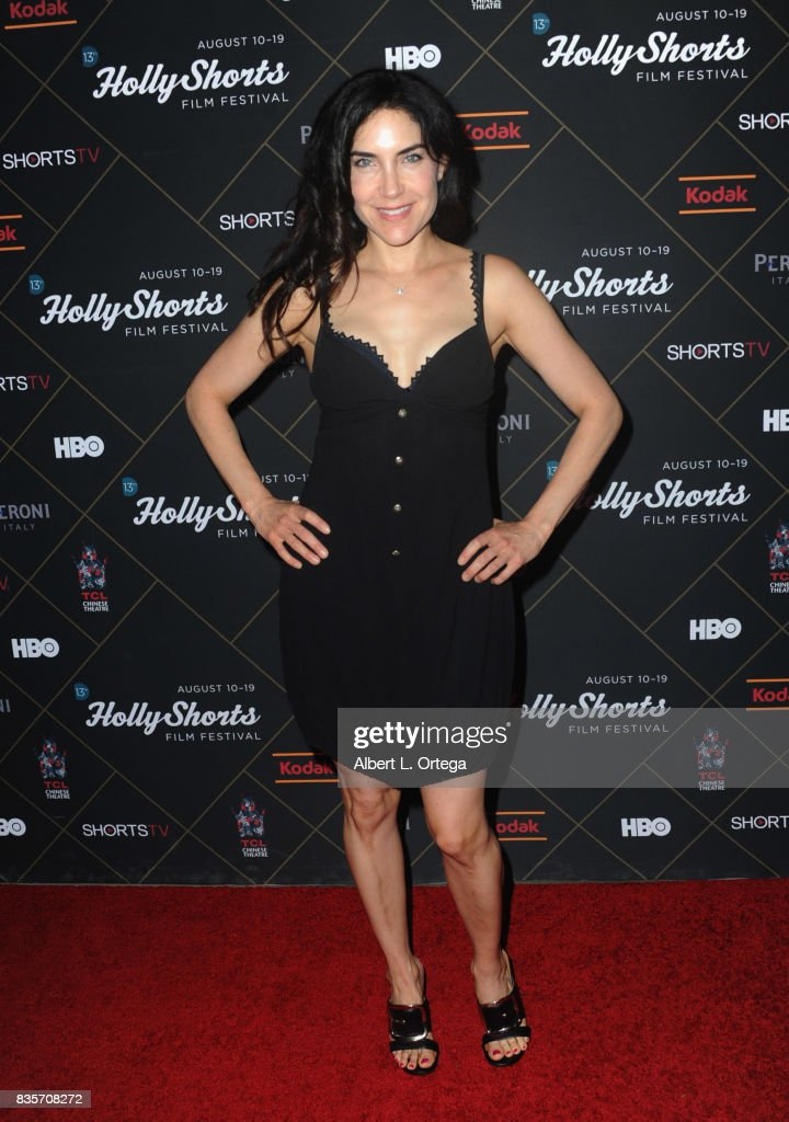 Actress Lahna Turner arrives for the HollyShorts Film Festival closing night film 'This Is Meg' held at TCL Chinese 6 Theatres on August 19, 2017 in Hollywood, California.