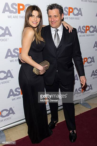 Actress Lake Bell and designer Isaac Mizrahi attend the 17th Annual ASPCA Bergh Ball Gala at The Plaza Hotel on April 10 2014 in New York City