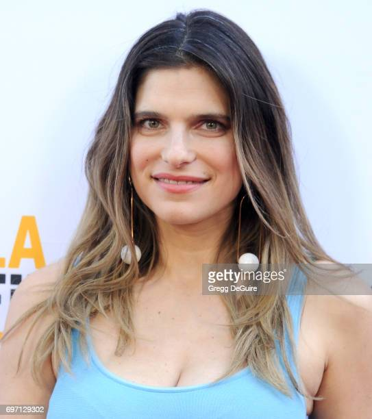 Actress Lake Bell arrives at the 2017 Los Angeles Film Festival Gala Screening Of 'Shot Caller' at Arclight Cinemas Culver City on June 17 2017 in...