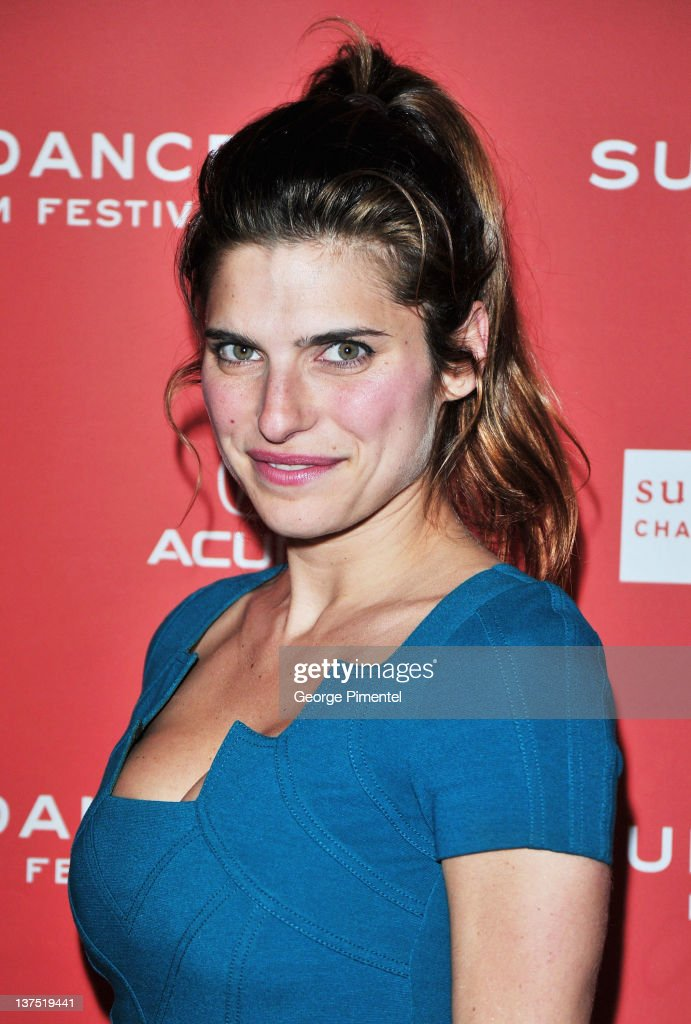 Actress Lake Bell arrives at the 'Black Rock' Premiere during the 2012 Sundance Film Festival at Library Center Theater on January 21, 2012 in Park City, Utah.