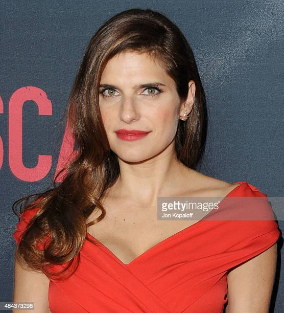 Actress Lake Bell arrives at the Los Angeles Premiere 'No Escape' at Regal Cinemas LA Live on August 17 2015 in Los Angeles California