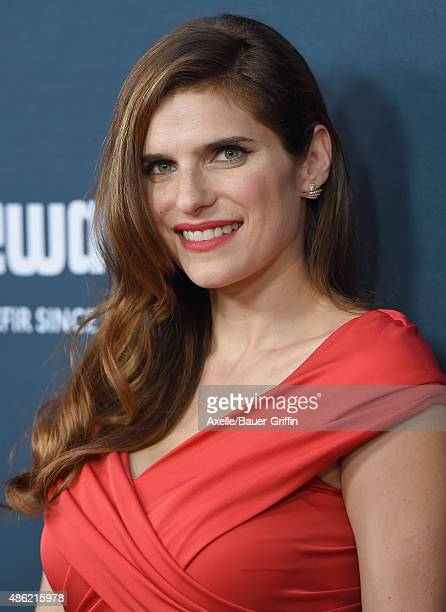 Actress Lake Bell arrives at the premiere of The Weinstein Company's 'No Escape' at Regal Cinemas LA Live on August 17 2015 in Los Angeles California
