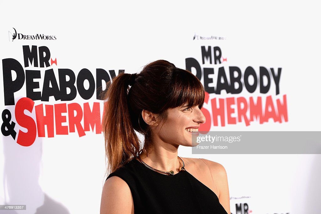 Actress Lake Bell arrives at the Premiere of Twentieth Century Fox and DreamWorks Animation's 'Mr. Peabody & Sherman' at Regency Village Theatre on March 5, 2014 in Westwood, California.