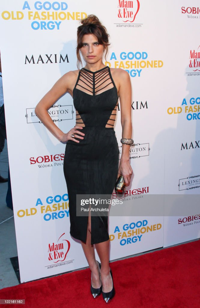 Actress Lake Bell arrives at the screening for 'A Good Old Fashioned Orgy' on August 25 2011 in Los Angeles California