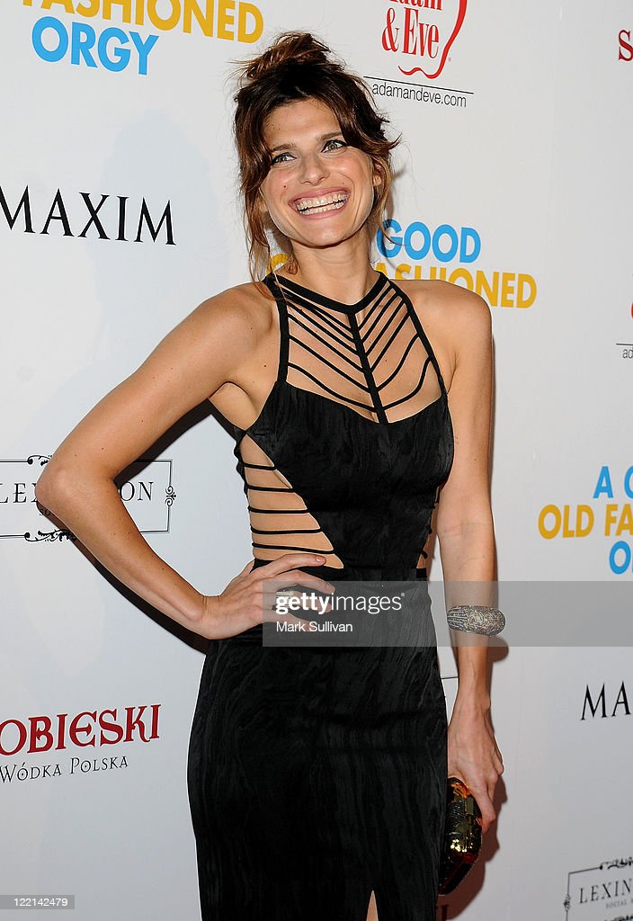 Actress Lake Bell arrives for a screening of 'A Good Old Fashioned Orgy' on August 25 2011 in Hollywood California