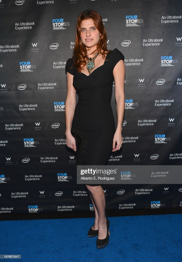 Actress Lake Bell arrives to the after party for the premiere of 'Four Stories' at The W Hotel on December 4, 2012 in Westwood, California.