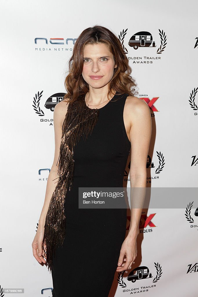 Actress Lake Bell attend the 14th Annual Golden Trailer Awards at Saban Theatre on May 3, 2013 in Beverly Hills, California.