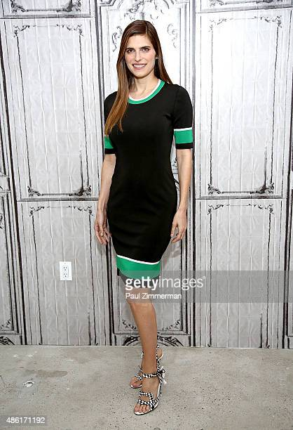 Actress Lake Bell attends AOL Build Speaker Presents Lake Bell at AOL Studios New York City on September1 2015