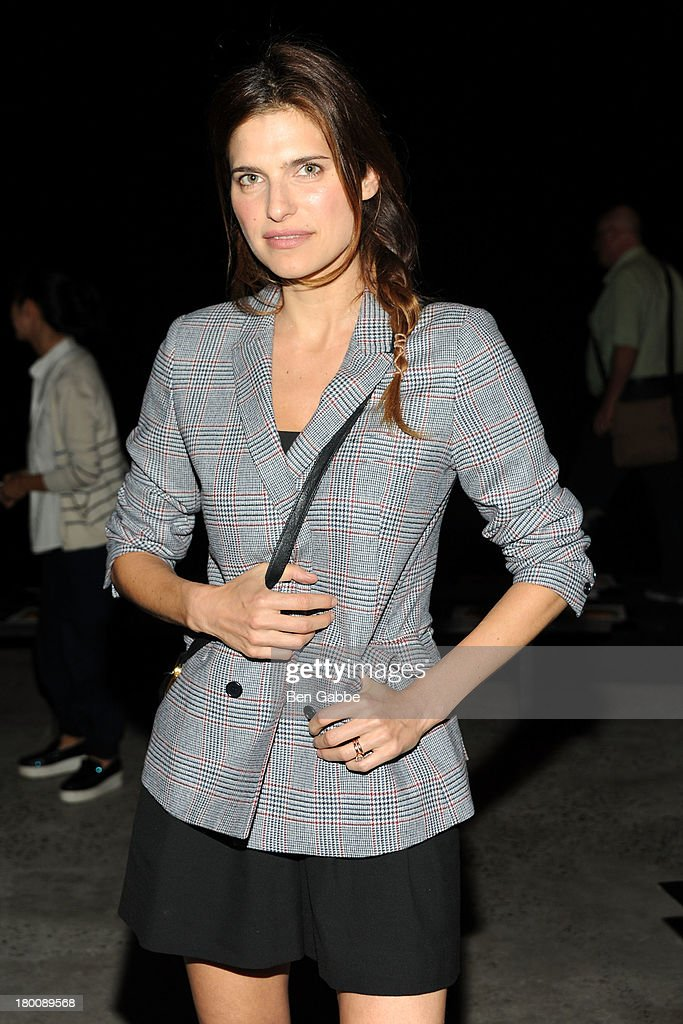 Actress Lake Bell attends Band Of Outsiders Women's during Mercedes-Benz Fashion Week Spring 2014 on September 8, 2013 in New York City.