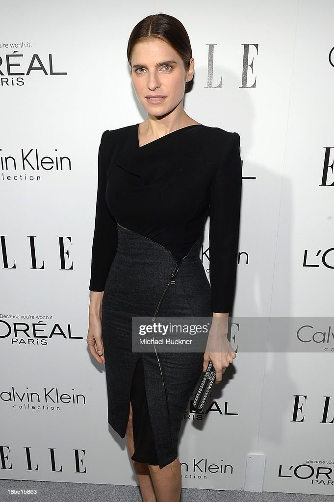 Actress <a gi-track='captionPersonalityLinkClicked' href=/galleries/search?phrase=Lake+Bell&family=editorial&specificpeople=209336 ng-click='$event.stopPropagation()'>Lake Bell</a> attends ELLE's 20th Annual Women In Hollywood Celebration at Four Seasons Hotel Los Angeles at Beverly Hills on October 21, 2013 in Beverly Hills, California.