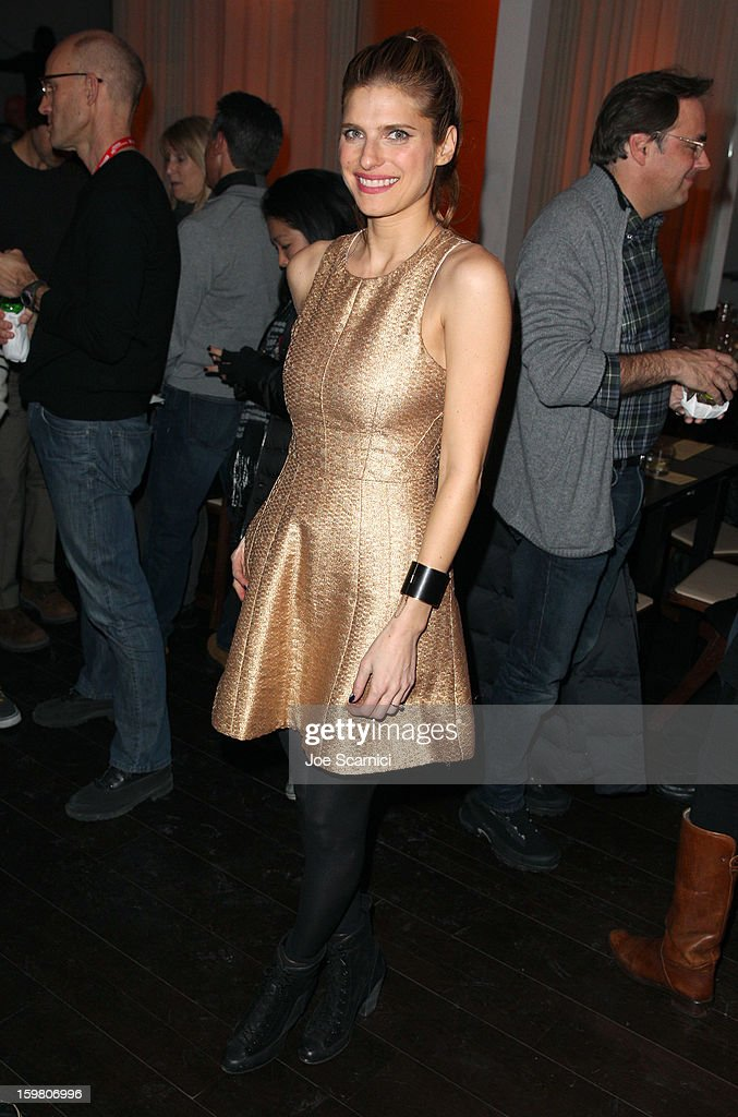 Actress Lake Bell attends 'In A World' Dinner on January 20, 2013 in Park City, Utah.