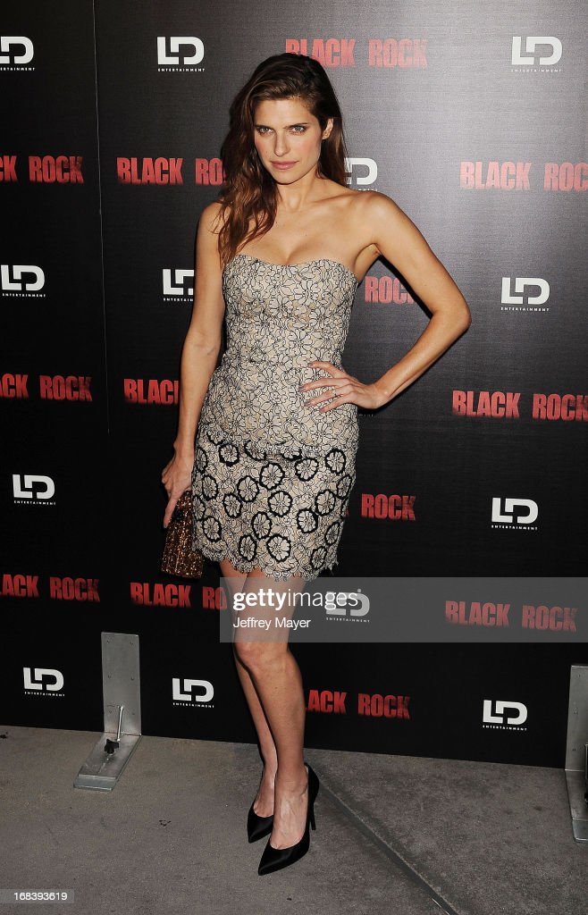Actress Lake Bell attends the 'Black Rock' Premiere held at ArcLight Hollywood on May 8, 2013 in Hollywood, California.