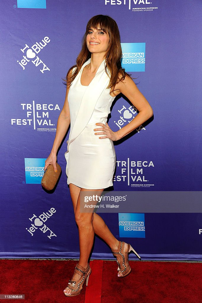 Actress Lake Bell attends the premiere of 'A Good Old Fashioned Orgy' during the 2011 Tribeca Film Festival at SVA Theater on April 29, 2011 in New York City.