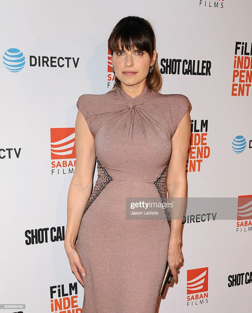 Actress Lake Bell attends the premiere of 'Shot Caller' at The Theatre at Ace Hotel on August 15, 2017 in Los Angeles, California.